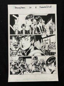 Uncanny X-Men #20 Page 6 Original Comic Book Art - Chris Bachalo