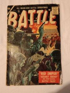 Battle (AU) #54 (1957) EA2