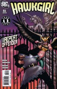Hawkgirl #51 VF/NM; DC | save on shipping - details inside