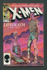Uncanny X-Men #186 (1st Series 1963) / 9.2 NM-  October 1984