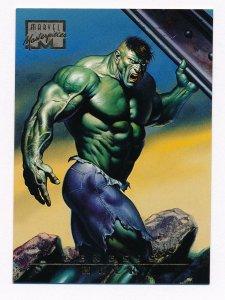 1996 Marvel Masterpieces #97 Hulk