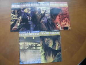 5 Near-Mint AVATAR George R R Martin's FEVRE DREAM Comic #2 3 5 8 10 Wrap-Around