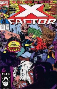 Marvel X-FACTOR (1986 Series) #72 NM-