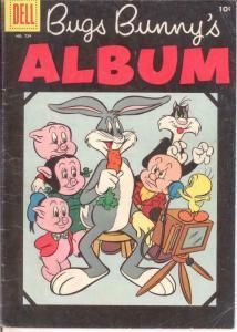 BUGS BUNNY ALBUM F.C. 724 VG-F COMICS BOOK