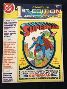 Famous First Edition C-61 1979- Superman #1