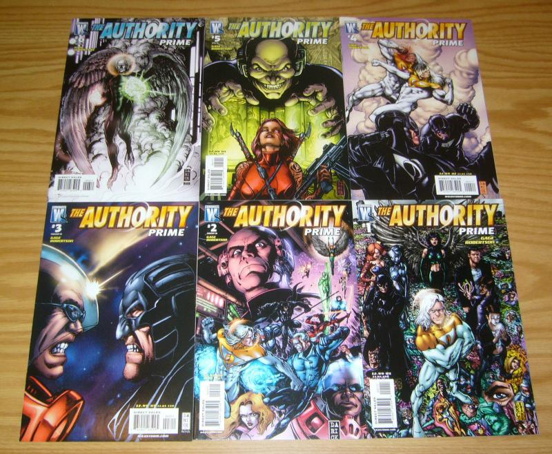 the Authority: Prime #1-6 VF/NM complete series CHRISTOS GAGE wildstorm comics