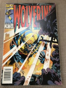 WOLVERINE #83 Newsstand : Marvel comics July 1994 Fn+; Andy Kubert cover