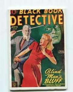 BLACK BOOK DETECTIVE-REPRODUCTION-LIMITED EDITION-BLIND MAN'S BLUFF-WINTER ISSUE