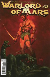 Warlord of Mars #32A VF/NM; Dynamite | save on shipping - details inside