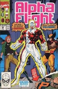 Marvel ALPHA FLIGHT (1983 Series) #89 VF