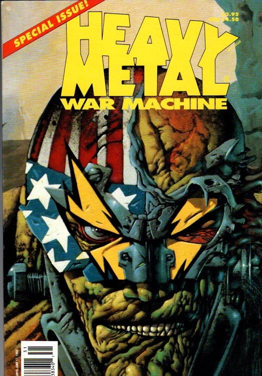 HEAVY METAL 2 ISSUE LOT VOL#21 #6 AND VOL#7 ISSUE #1 $6.00