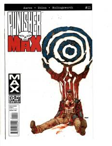 Lot Of 3 Punisher Marvel Max Comic Books # 11 18 Butterfly MK7