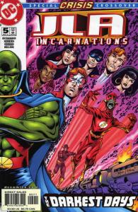 JLA: Incarnations #5 VF/NM; DC   save on shipping - details inside
