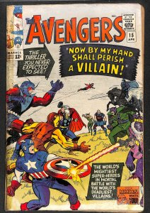 Avengers #15 GD- 1.8 Marvel Comics Thor Captain America