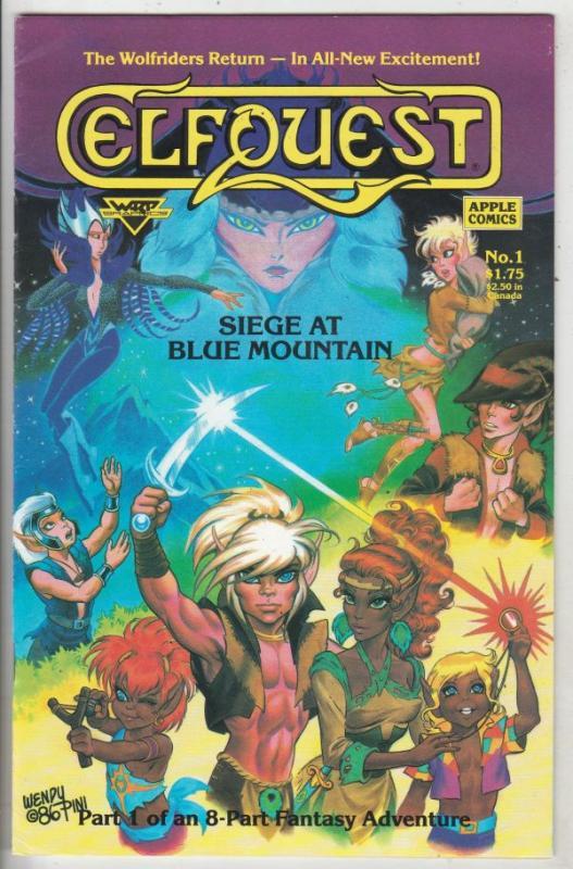 Elf Quest Siege At Blue Mountain #1 (Mar-87) VF/NM High-Grade Elfquest