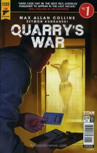 Quarry's War #1A VF/NM; Titan | save on shipping - details inside