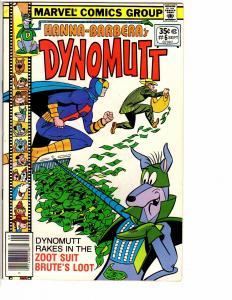 DYNOMUTT (1978 MARVEL) 6 VF Sept 1978 COMICS BOOK