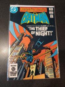 Detective Comics #529 1st Nocturna (behind scenes) 1st Night-Slayer
