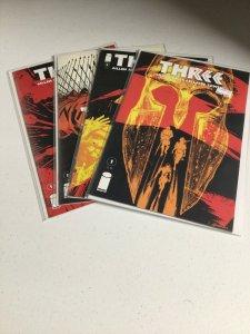 Three 1 2 3 5 Nm Near Mint Image Comics