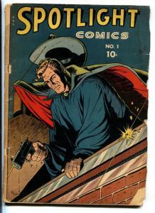 SPOTLIGHT #1-1944-CHESLER-BARRY KUDA-BLACK DWARF-VEILED AVENGER-comic