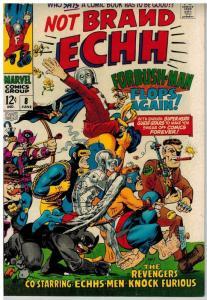 NOT BRAND ECHH 8 FINE June 1968 COMICS BOOK