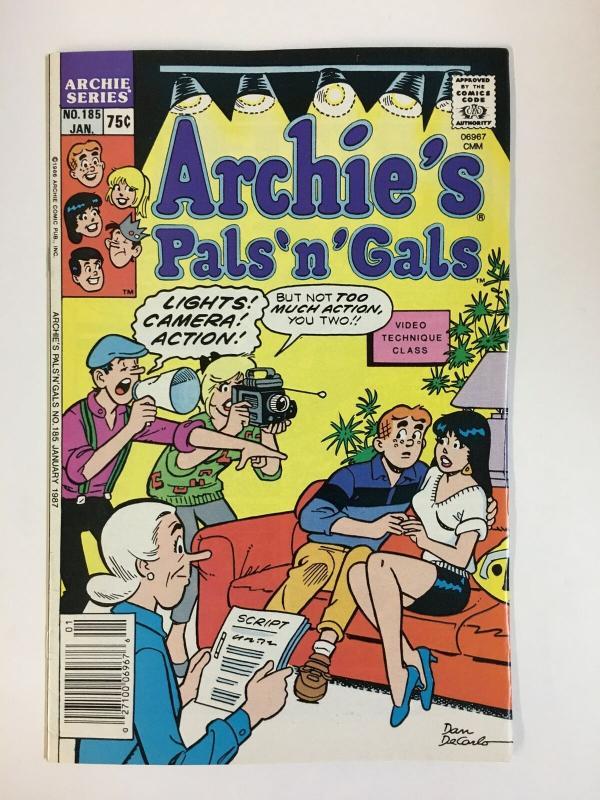 ARCHIES PALS & GALS (1952-    )185 VF-NM  Jan 1987 COMICS BOOK