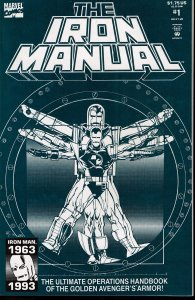 Iron Manual #1 - NM - Bill Sienkiewicz Cover