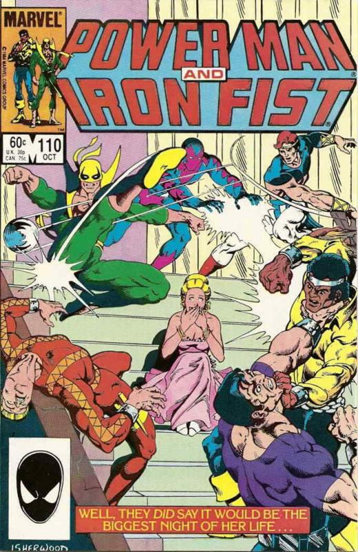 Power Man And Iron Fist #110 VF; Marvel | save on shipping - details inside