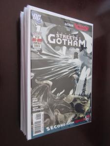 Batman Streets of Gotham (2009) #1-21 - 8.0 VF - 2009