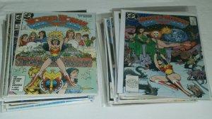 Wonder Woman V2 #1-32 (missing #13) Annual #1 Perez run Cheetah comics lot of 32