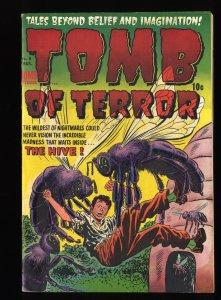 Tomb Of Terror #8 VG/FN 5.0 Killer Bees!