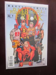 Deadpool Funeral For a Freak 1st Series #64 - VF - 2002