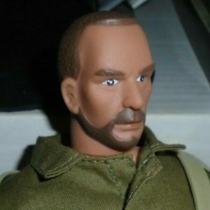 Formative International 12 Military Action Figure broken ankle