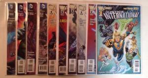 Justice League International 1-12 Near Mint Lot Set Run Missing #11 12