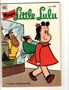 Marge's Little Lulu # 51 FN Dell Golden Age Comic Book Museum Baby JL8