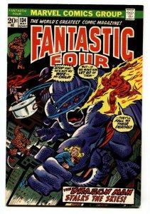 FANTASTIC FOUR #134 comic book-1973-High Grade VF+