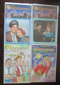 Honeymooners comic set #1 to #12 + poster all 14 different books 8.5 VF+ (1987)