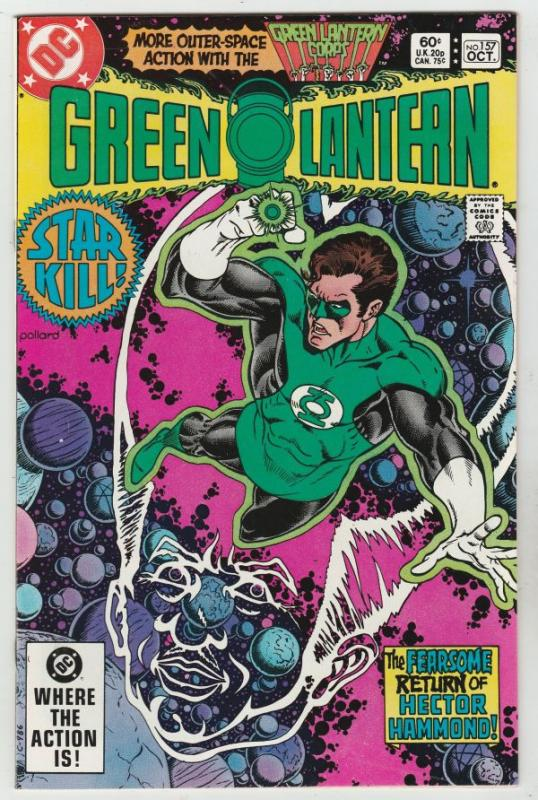 Green Lantern #157 (Oct-82) NM+ Super-High-Grade Green Lantern, The Green Lan...