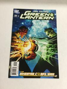 Green Lantern 21 Variant Nm Near Mint DC Comics