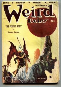 WEIRD TALES NOV 1948-SEABURY QUINN-JACOBI-JOHN GUINTA FN