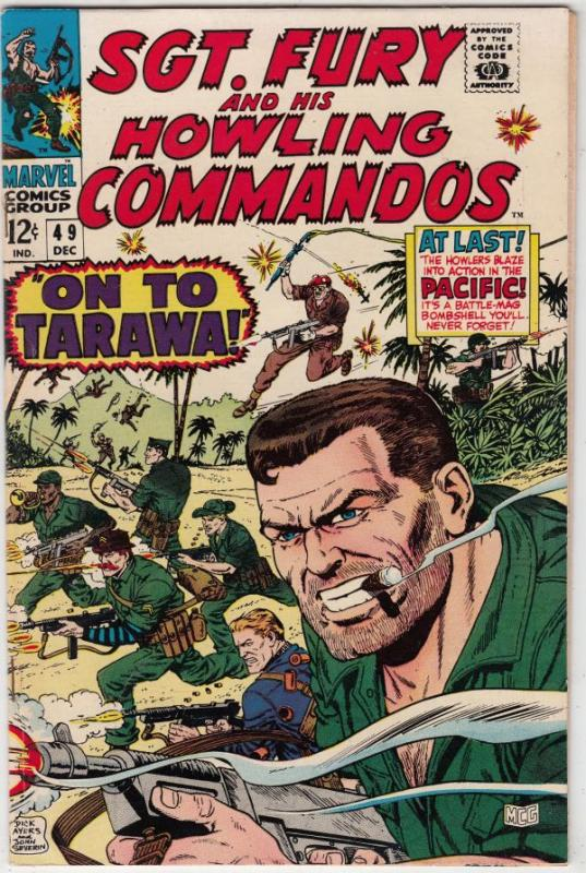 Sgt. Fury and His Howling Commandos #49 (Dec-67) NM- High-Grade Sgt. Fury, Ho...