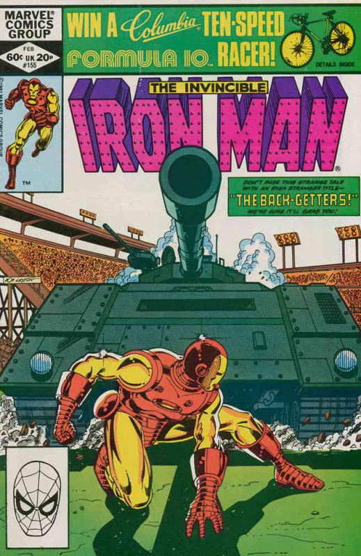 Iron Man (1st Series) #155 VF/NM; Marvel | save on shipping - details inside