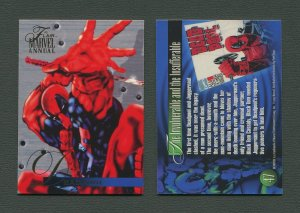 1995 Flair Marvel Annual Card #47 (Dead Pool)  MINT (A)