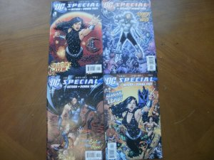 4 Near-Mint DC Special THE RETURN OF DONNA TROY Comic #1 2 3 4 (Complete Set)