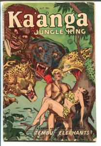 Kaanga #17 1953-Fiction House-jungle fights-Sheena story-Maurice Whitman art-G+