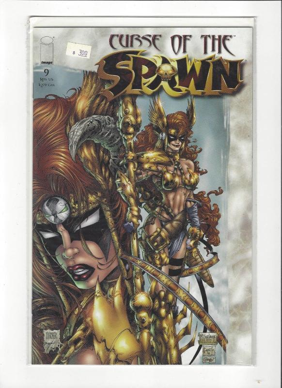 Curse of the Spawn #9 (May 1997, Image) Angela App. NM