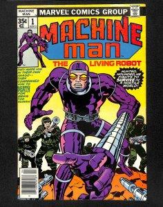 Machine Man #1 VG+ 4.5
