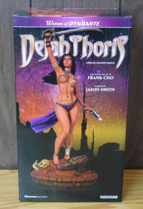 Dejah Thoris Statue Diamond-Eye Black & White Edition (#13 of 13) Artist Proof