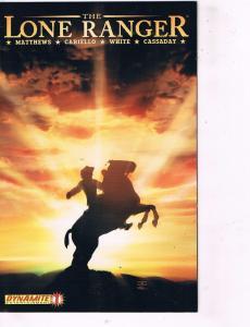 The Lone Ranger # 1 Variant NM Dynamite Entertainment Comic Book Western J97