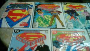 THE MAN OF STEEL #1- 6  & Special Collectors Variant Cover #1 (1986) {WHOLESALE}